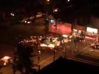 これは珍しい事故。ヘリコプターと消防車が交差点で衝突してバチバチな事にww