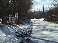 雪道の運転が怖い!という人向けの運転マニュアル。ブレーキの踏み方カーブの曲がり方。