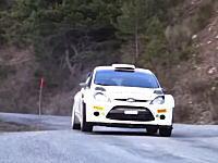 WRCマシンは跳ねながら曲がらせる!ロバート・クビサによる2015年マシンテスト。