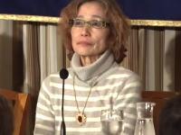 イスラム国に人質に取られている後藤健二氏の母親、石堂順子さんの会見の映像。