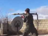 2015年になってもまだ終わらないシリアの戦い。リアルな視点から撮影した戦闘ビデオ。