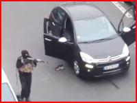 パリの新聞社襲撃事件で衝撃映像。武装テロリストが警官を射殺する映像が公開される。
