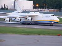 世界一重い航空機。空中要塞のような図体。アントノフ225の迫力の離陸風景。ムリーヤ