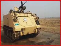 イスラム国がイラク軍基地を襲撃しアメリカ製の武器や装甲兵員輸送車を奪い取る。