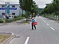 googleマップのストリートビュー撮影車がスピード違反で捕まるwww画像が人気にww