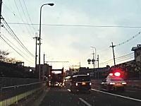 大阪のパトカーは口が悪い?高槻で怒声を発しながら追い越していくパトカーが撮影されるw