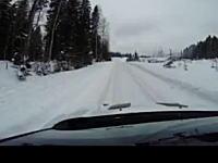 上級者に学ぶ雪道の運転方法。ハンドルはカーブに差し掛かる前に切る。そしてトルクを強めにかける。