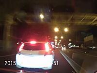 あんなんだてめぇ!!笹目通りで公道バトル。日産リーフvsうp主のビデオ。