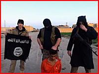 イスラム国が新たな斬首動画を公開。23分間のイラク軍との戦闘ビデオの最後に・・・。