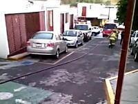 産婦人科病院で5名が死亡したガス爆発事故の瞬間。映像が公開される。メキシコ。