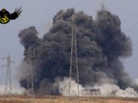シリア政権軍の前哨基地を狙ったトラックによる自爆攻撃の威力がハンパない(@_@;)