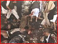 イエメンでイスラム国が自爆テロ。2か所の施設で140人以上が死亡。その悲惨な現場の映像。