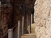 世界一危険な道の一つだったエル・カミニート・デル・レイが改修工事を行い比較的安全な道に。