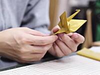 日本発。ダンスをする折り紙の動画が海外で大ヒットwwwじわじわくるwww