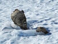 標高5636メートルの山で55年前に遭難した登山者のミイラ化した遺体が発見される。