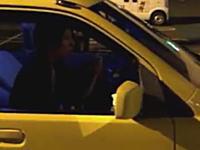 無免許運転をネット配信で自称ネットタレントの男性を逮捕。その動画がこれだ!