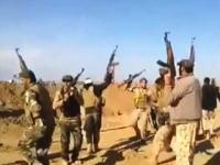 歌って踊ってたイラク兵の元に自爆攻撃のトラックが。爆発の威力はんぱねえ(@_@;)