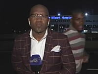 ヨハネスブルグ怖すぎワロタwww生放送中のテレビレポーターが強盗にあうwww
