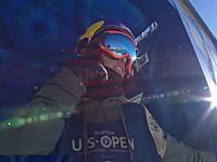 スノーボードのUSオープンで角野友基(18)が大技トリプルコーク1620を連続で決め優勝。