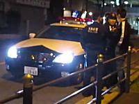 大阪のヤンキー怖すぎ。職務質問にブチギレてる軽自動車のヤンキー二人組が怖い。