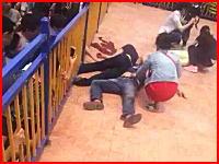 中国の遊園地で乗客2名がアトラクションから落下して死亡。その恐ろしい現場映像。