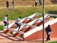チリ軍式障害物レースがなかなか見ごたえある動画。グッド評価率98.4%