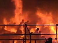 台湾の音楽イベントで粉じん爆発。観客が炎の海の中を逃げ惑うヤバすぎる動画がうpされる。