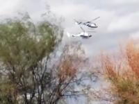 フランスでサバイバル番組を撮影中にヘリが墜落。金メダリストら10人が死亡する事故の映像。
