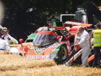 貴重なレーシングカー「マツダ767B」がFoSでクラッシュ!フロント大破。