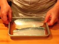 和の料理人に学ぶ「しめ鯖」の作り方。菜の花のお浸し。鯵の酢味噌和え。