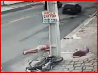19歳と14歳のカップル!?バイク事故で後部座席に乗っていた14歳の少女が死亡。その瞬間。