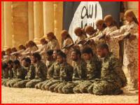 イスラム国の少年兵たちが並べた25人のシリア軍兵士を射殺する動画がキテタ