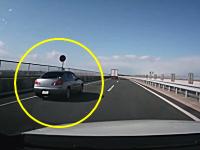 覆面パトカーを追い越してスピード違反で捕まる一部始終。東京湾アクアライン連絡道
