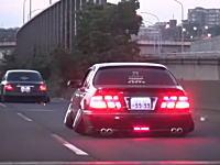 まともに走れてねえwww日本の鬼ネガキャンVIPカー(笑)が海外にバレる。