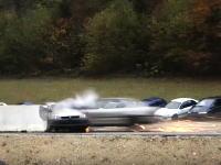 200km/hまで加速させた車を衝突させるクラッシュテストの映像が凄まじいww