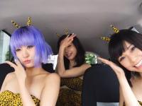 日本の美女3人組がMime Through Timeに挑戦。左の子がカワエエエ(*´д`*)