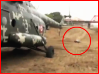 ヘリコプターのテールローターで切断されてしまった女性。その瞬間の映像が撮影されていた(((゚Д゚)))