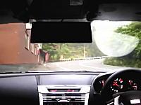 明らかにスピード違反。日本の峠道アタックでスピードメーターを映しちゃった走り屋。