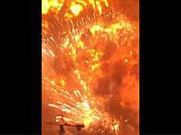 中国爆発はマグニチュード3から4相当。新しい動画キマシタ。ドラレコ版もあり。