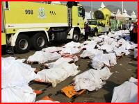 メッカ巡礼者大量圧死事件の死亡者数が4000人を超えたそうです。画像あり注意。