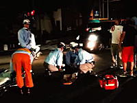 目の前で起きた死亡事故をレポート。日立市で信号無視の歩行者がはね飛ばされる瞬間(°_°)