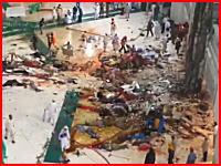 大惨事すぎる・・・。大型クレーンが倒れて107人が亡くなった現場の映像。