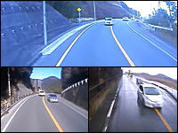 どこ見て運転してたんだ?対向車の危険な車線はみ出し3連発。最後のはマジあぶない。