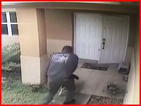 警官が発砲した弾がワンちゃんの頭に命中(°_°)痙攣するワンコ。これは悲しい。