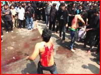 ナイフで頭を切られる赤ちゃん。切り過ぎて止められる男性。イスラム教シーア派の儀式がヤバすぎる。