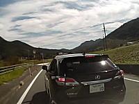 このやろぉ!家族と子供を乗せているのに危険なDQN運転をするうp主ドラレコ。