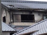 ネット配信で火事になった家の翌日の様子を撮影した映像がアップされる。結構な燃えっぷりやんwww