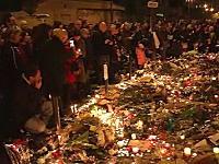 いまフランスで爆竹を鳴らしてはいけない(´・_・`)爆竹音と悲鳴でパニックになる人たち。