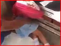 エレベーターで起きた恐ろしい死亡事故。4歳の少女が挟まれて死亡した現場の映像。