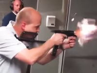 弾幕を張れる拳銃。グロック19で10マガジン分をフルオートで連射してみた。驚くおっさんw